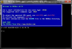 DosBox ScreenShot
