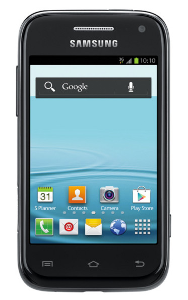 Samsung GalaxyRush Front View
