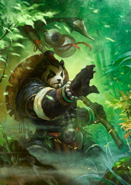World of Warcraft_Mists of Pandaria Male Pandaren