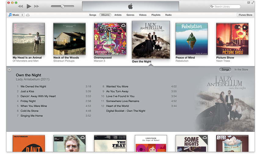 iTunes 11 ScreenShot
