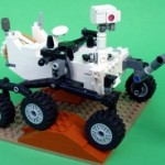 A Lego Mars Rover on the Way