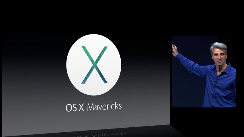 Apple Announces OSX Mavericks