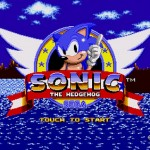 Sonic 1Title Screen