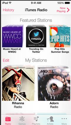 iTunesRadioiOS7