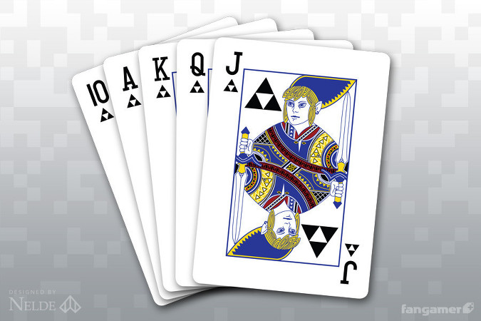 The Legend of Zelda Inspired Playing Cards
