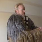 Adam Savage as Chewbacca!