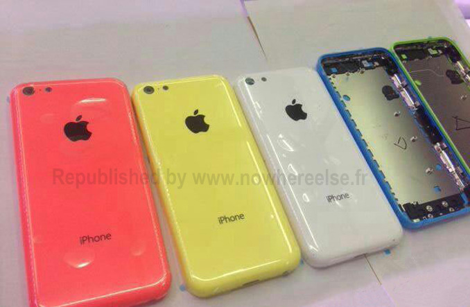iPhone 5c images (leaked)