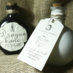 How to make Halloween potion bottles