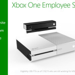 White Xbox One for Employees