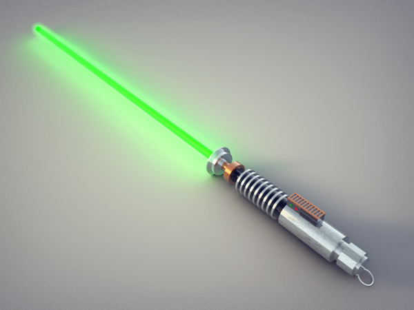 Luke's Lighsaber