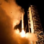 Frog Meets Rocket Launch