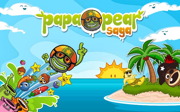 Featured App: Papa Pear Saga