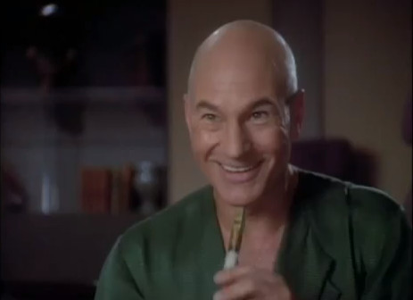 "Captain Picard Singing ""Let it Snow"""