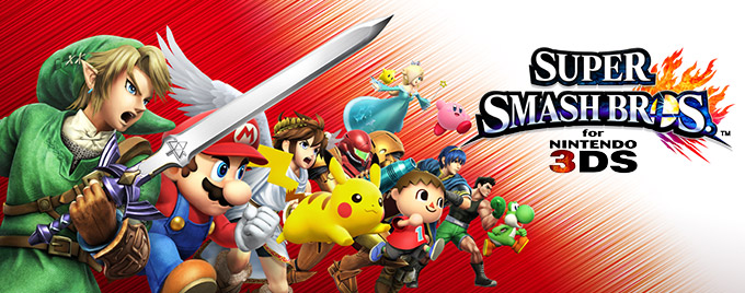 Super Smash Bros. 3DS Demo Code Giveaway!