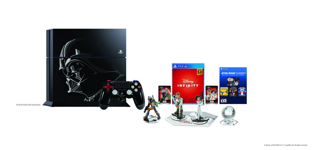 PS4 Starwars Darth Vader Infinity Bundle