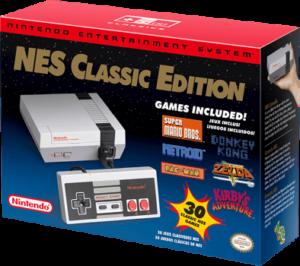 Nintendo Mini NES console