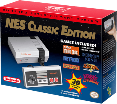 Nintendo's New Mini NES Website has now Launched